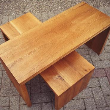 Passion Bois Tables-basses-en-chêne-massif-huilé,-vendues-par-2