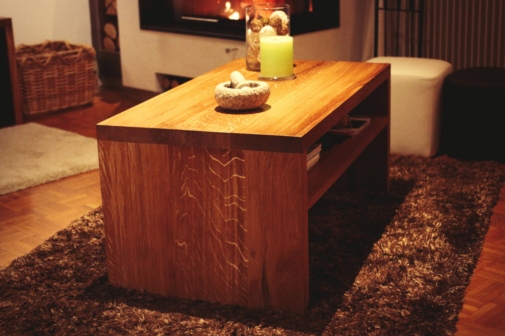 table basse passion bois